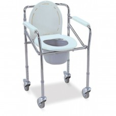 H HEALTH COMODE CHAIR WITH WHEELS
