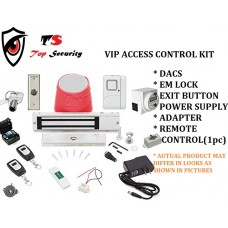 S COMPLETE SECURITY ACCESS CONTROL SYSTEM WTH REMOTE CONTROL