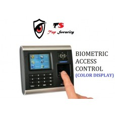 S BIOMETRIC FINGER PRINT READER ACCESS CONTROL COLOR  SECURITY WITH NETWORKING
