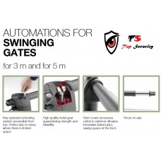 S AU AUTOMATIC SECURITY SWING GATE OPENER UNIT FOR LIGHT WEIGHT  GATES