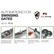 S AU AUTOMATIC SWING SECURITY GATE OPERATOW WITH CONTROL PANEL (HEAVY DUTY)