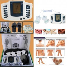 H Electronic Pulse Massager with Slippers (Digital Therapy Machine) HEALTH