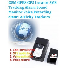 E SECURITY AUDIO BUG WITH AUTO CALL BACK (GSM WITH LOCATION FINDER)